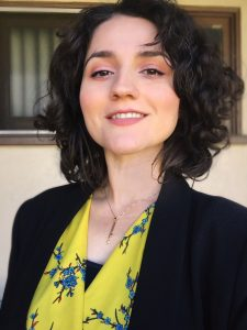 Headshot of one of our sex and intimacy therapy clinicians smiling at the camera
